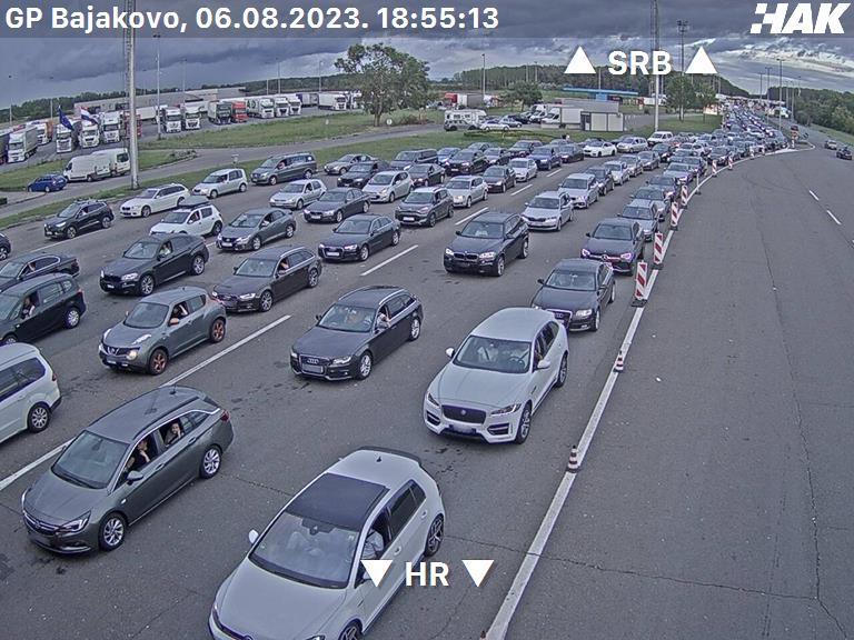 Hd Bajakovo Kroatien Zoll Grenzübergang webcam Live